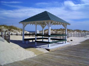 Gazebo on the Boardwalk